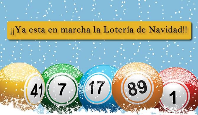 Ya esta en marcha la Lotería de Navidad