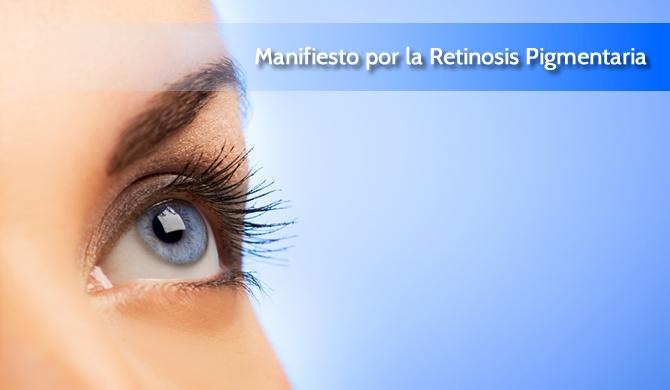 Manifiesto por la Retinosis Pigmentaria