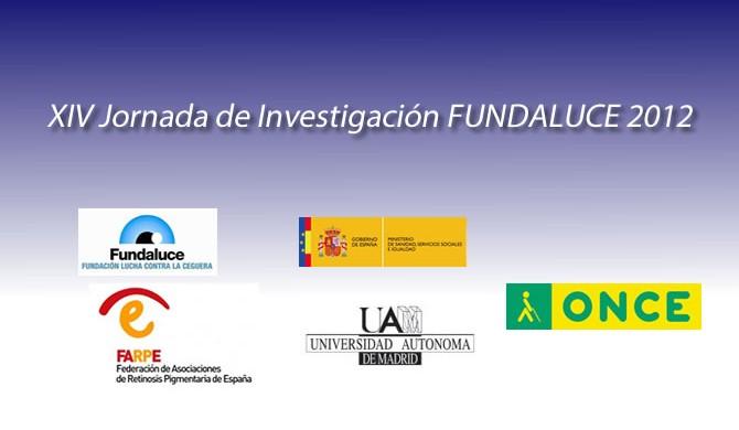 XIV Jornada de Investigación FUNDALUCE 2012-portada