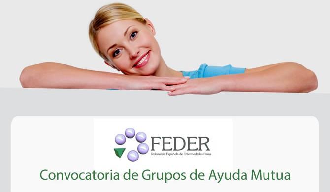 FEDER - convocatoria de los Grupos de Ayuda Mutua