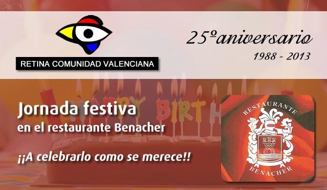 Jornanda celebración 25 aniversario