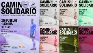1800 km de camino solidario