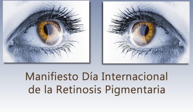 Manifiesto Dia Internacional de la Retinosis Pigmentaria