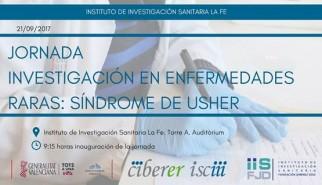 Imagen de la jornada de investigación en enfermedades raras: síndrome de ushcer.